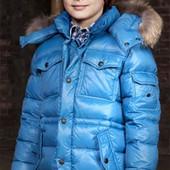 Зимний пуховик Eddie Pen Piuma на 8 лет, рост 128 см,  Италия