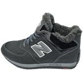 Кроссовки мужские зимние на меху New Balance Style GA14