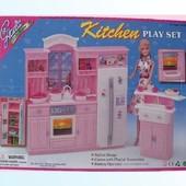 """Кухня """"Gloria"""" 24016  батар.,холодильник,газплита,мойка"""