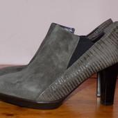 Кожаные фирменные стильные ботинки Roberto Santi 36 р - Новые