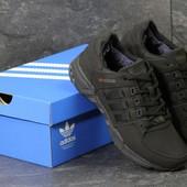 Зимние кроссовки Adidas Equipment black, нубук