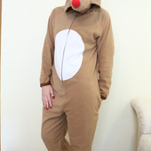 Пижама кигуруми Прикольненький Олень, Cedarwood state размер М на рост 178-185 см
