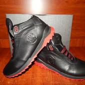 Мужские кожаные зимние ботинки LeveL 41-42-43р.