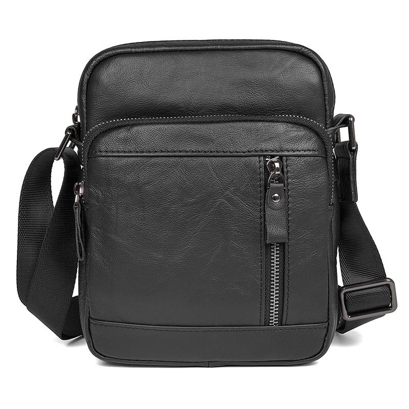 Мужская сумка барсетка 100% кожа из натуральной кожи фото №1