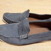 Замшевые фирменные туфли TopMan р.43-28см.