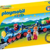 Новый ночной поезд с треком Playmobil (6880). Германия. оригинал