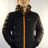 Отличная зимняя куртка со сьемным капюшоном, 2 цвета