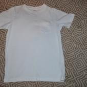 новая белая футболка M&S рост 110 см Англия