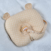 Ортопедическая подушка для новорожденных Мишка