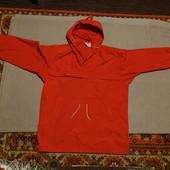 Ярко красная плотная куртка-анорак для активного отдыха Grenoble 54 р.