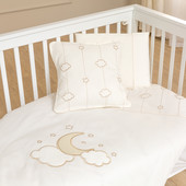 Набор постельного белья Luna Elegant (3 предмета) Funna Baby 0403 Турция бежевый 12119641