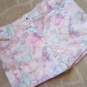 Крутые цветные фирменные шорты шортики F&F с бабочками