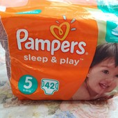 Памперсы Pampers sleep&play 5
