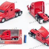 Металлическая машинка Kinsmart Kenworth T700, масштаб 1:68, грузовик, грузовая машина