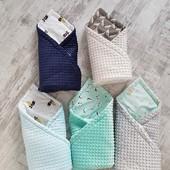 Чудесные одеялко-конверт-пледик в наличии
