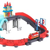 chuggington железная дорога Спасение от пожара с Вилсоном stackTrack blazing rescue LC54254