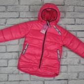 Зимняя куртка для девочки размеры 116 см - 140 см, разные цвета