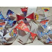 Зонт детский прозрачный купольный для мальчика. Круглая крепкая спица