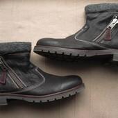 North Star (42, 27,5 см) кожаные ботинки мужские еврозима.