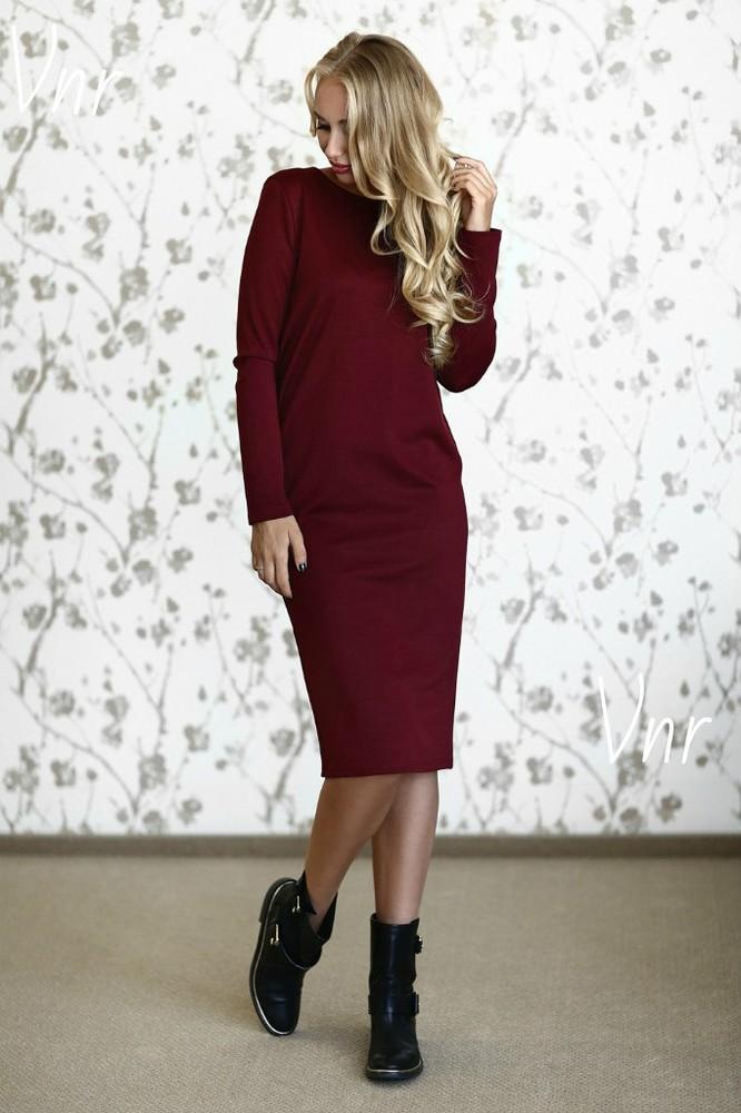 Cупер-практичное свободное платье 40-52рр фото №1