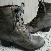 S.Oliver Утеплені Ботинки із еко-шкіри 40 р-р і устілка 26 см.