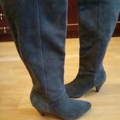 Andre Утеплені чоботи із нат.замші 36 р-р і устілка 23 см.