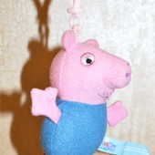 Брелок Свинка Пеппа Peppa Pig Оригинал