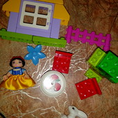 Lego duplo 6152 Домик Белоснежки