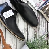 Мужские ботинки челси Lambretta с матовым кожаным верхом  SH3721