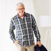 Стильная мужская рубашка , Качество! Tchibo германия, размер на выбор