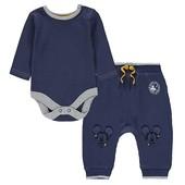 Комплект боди и штанишки джогеры Disney George 3-6М