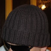 Стильная фирменная шапка шапочка H&M.м-л-хл .