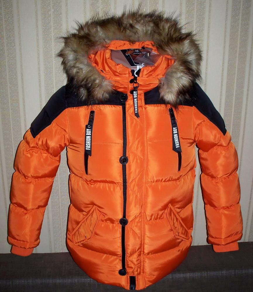 Акция куртка зимняя для мальчиков 128/134, 140 венгрия 3 цвета фото №1