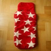 John Lewis супертеплый конверт чехол на ножки в коляску спальный мешок. Состояние идеальное. Очень т