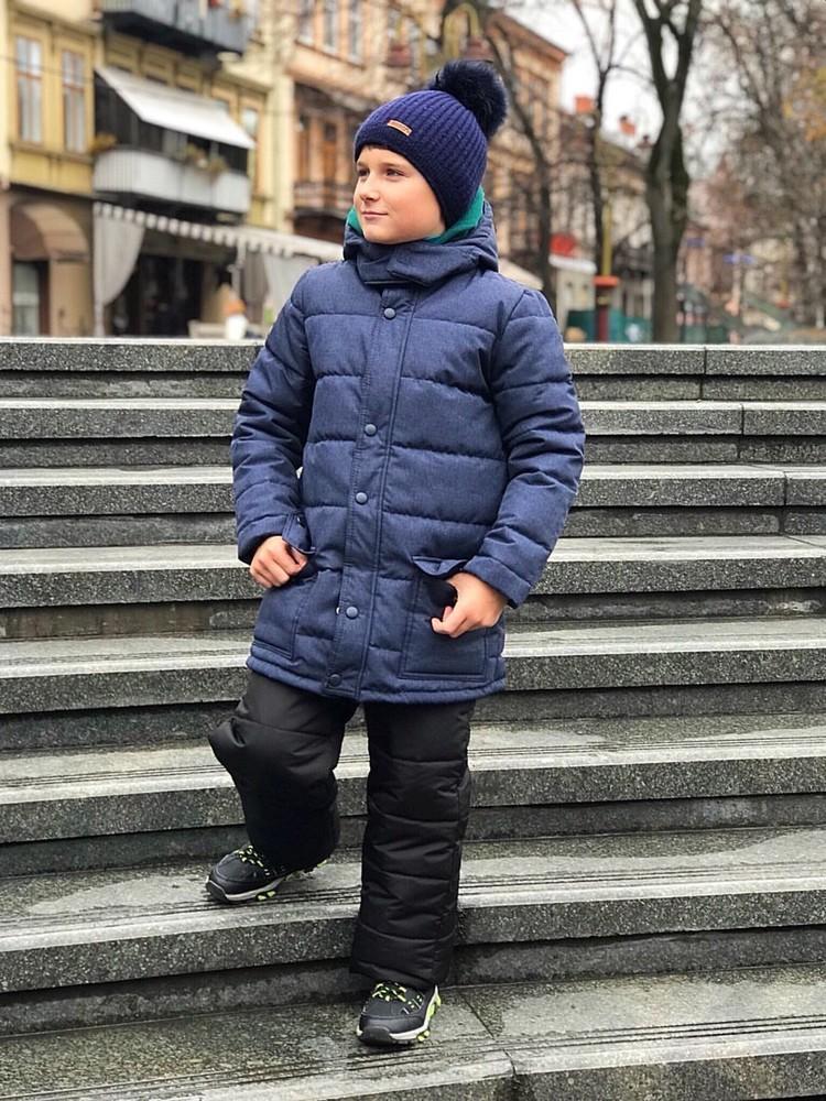 Гарантия 2 года! куртка зимняя 116-134 через год как новая!! фото №1