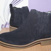 кожаные ботинки челси Marks&Spencer разм 38.5 Индия