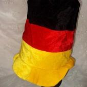 Шляпа-цилиндр маскарадная качественная
