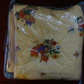Детское одеяло на овчине р. 140х100 см