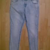Фирменные джинсы скинни XL