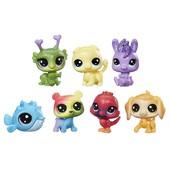 Набор из 7 зверушек радужные друзья Littlest pet shop оригинал Hasbro Rainbow Friends