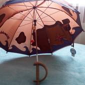 Новый зонтик мальчику.