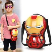 Детская сумка через плечо Супер герои