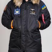 Парка, куртка Olymp Alyaska для патріотів, р. s-5xl, -30C, код cve-0010