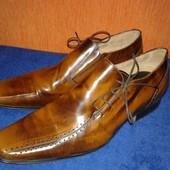 Кожаные туфли Jeff Banks. Оригинал. Размер 45