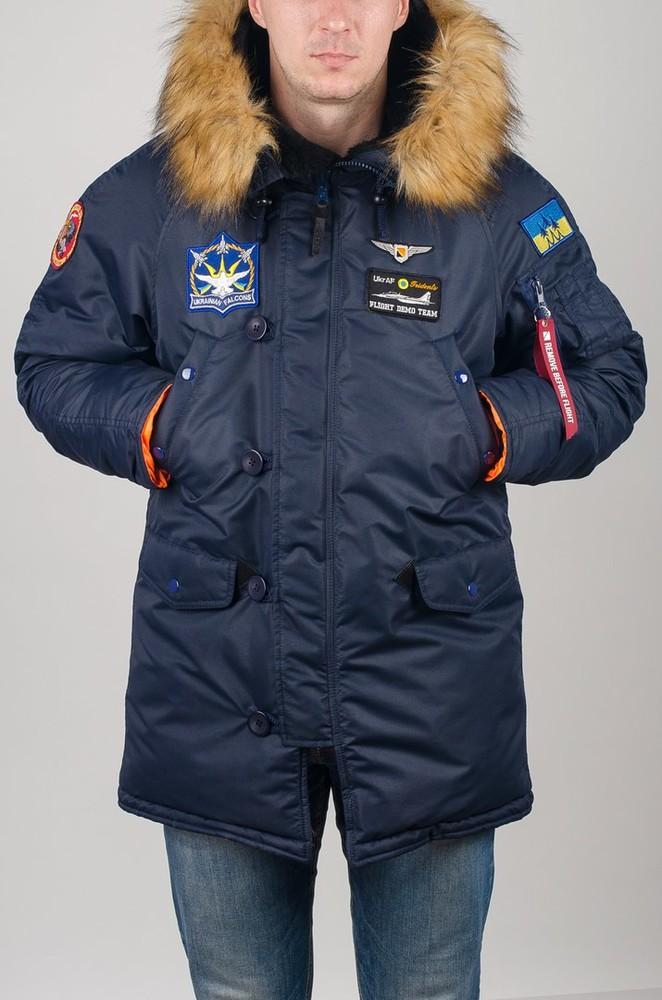 Парка, куртка Olymp Alyaska для патріотів, р. s-5xl, нейлон -30C, код cve-0012 фото №1