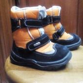 чоботи зимові, сапоги, 25 р, 1 2 роки, добрий стан