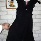 платье из легкой летящей ткани р 7л HYPE