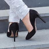 Новинка туфли натуральная замша / кожа код ЛЛ 28508