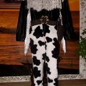 Эффектный костюм шерифа или ковбоя размер L
