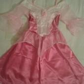 Продам нарядное платье девочке Аврора Disney 3-4года.104 рост.